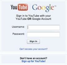 youtube-login
