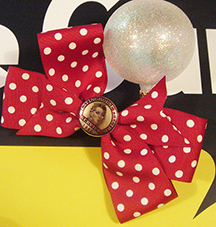 Rosie the Riveter Hair Bow