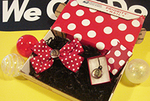 Rosie the Riveter Accessory, Hair Bow, Employment Badge