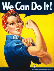 memoir writing, Rosie the Riveter