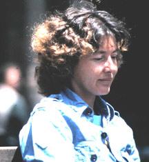 Nancy LaTurner in Somalia, 1983