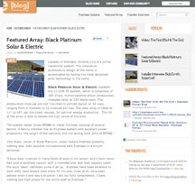 CLICK IMAGE to see a Black Platinum project featured on the Enphase blog