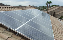Solar home Phoenix solar Arizona installing solar panels logvin