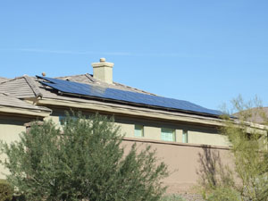 Solar home phoenix solar arizona installing solar panel