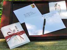 storytelling, gifts for writers, gifts for memoir writers, journaling gifts, lavendar notecard gift, memoir writing
