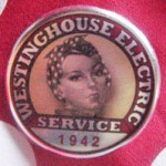 rosie the riveter pin, rosie the riveter employment badge, rosie the riveter ID pin, Rosie the Riveter collar pin, Rosie the Riveter collar button