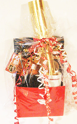 Gold Standard Writer's Gift Basket