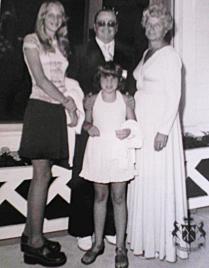 Barb, Kelly, Dad & Mom, Grand Hotel, Mackinac Island, MI, Summer 1974