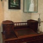 George Eliot's writing desk