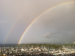Hawaii-2013-double-rainbow, memoir writing