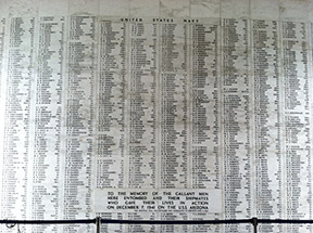 uss-arizona-list, memoir