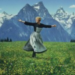 "Julie Andrews in ""The Sound of Music"""