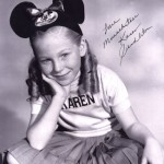 "Karen Pendleton on ""The Mickey Mouse Club"""