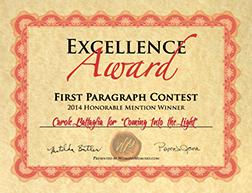memoir award