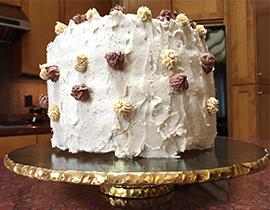 Birthday cake and memoir writing