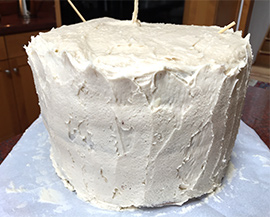 Birthday cake memoir