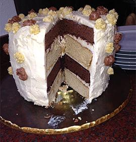 Birthday cake memoir writing