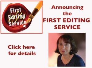 First Editing Service for memoir writers