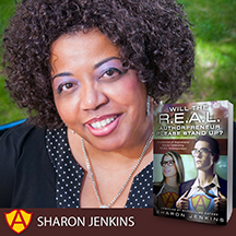 Authorpreneur Sharon Jenkins