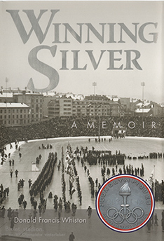 Memoir book cover for Winning Silver