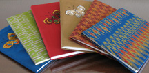 Thai Silk Journals for Memoir Writers